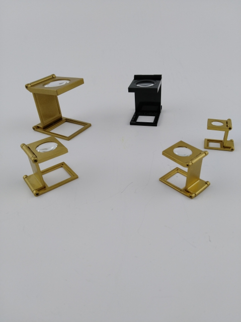Brass linen tester ø 16 mm - 8 power