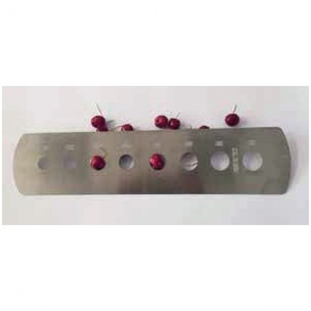 Cherry sizer from 18 to 32 mm