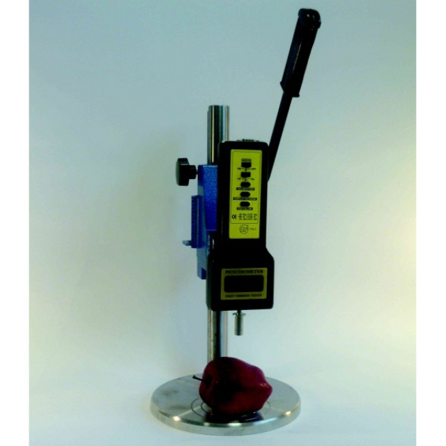 Digital fruit firmness tester