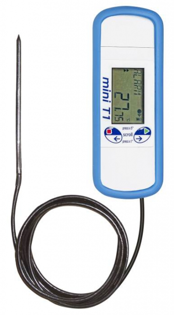 Temperature data logger - external sensor
